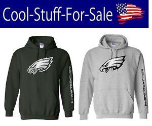 Philadelphia Eagles Football Pullover Hooded Sweatshirt