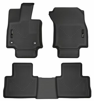 Husky Liners 99601 WeatherBeater Black Front and Second Seat Floor Liner