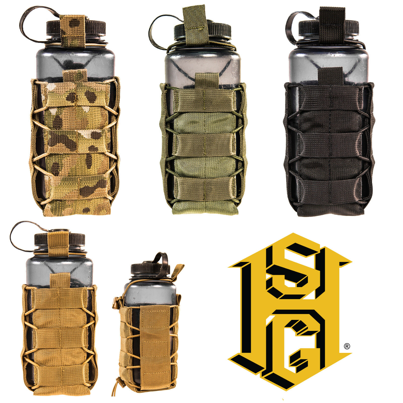 HSGI Tactical MOLLE Belt Mounted SOFT TACO Multi-Purpose Water Bottle Tool Pouch
