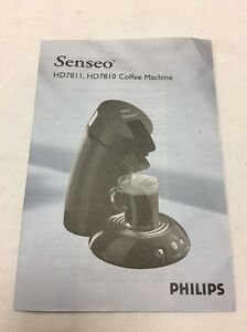 Download free pdf for philips senseo hd7812 coffee maker manual.