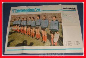 ARGENTINA-W-C-1978-COGED-Poster-team-AUSTRIA-Osterreich
