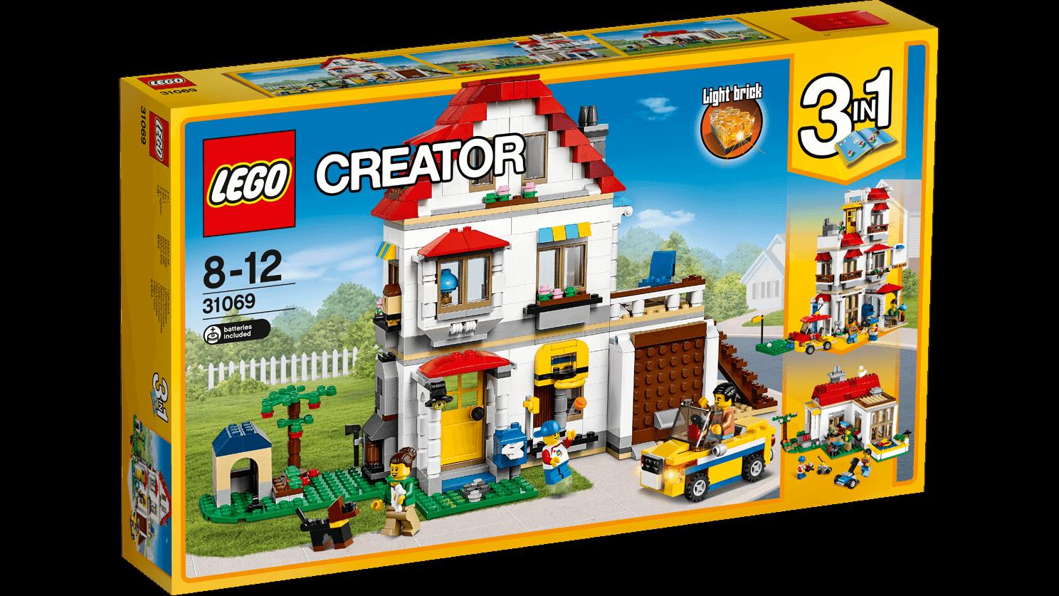 Lego Lego Lego Creator 31069 - Creator Family Villa - NUEVO 9dcdf0