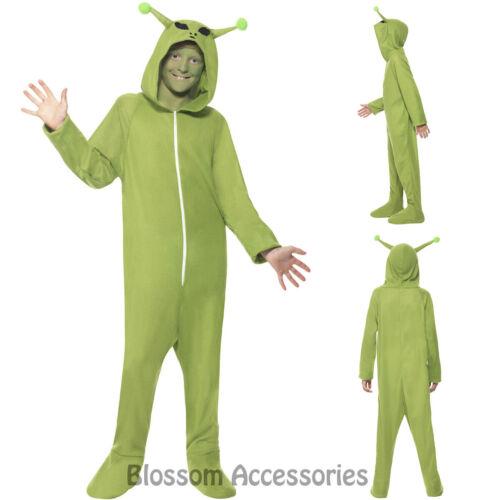 CK728 Alien Costume Boys Girls Child Sci Fi Space Halloween Fancy Dress