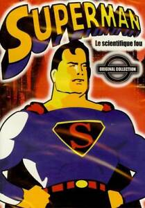 Superman Le Scientifique Fou Dvd Dessin Anime Neuf Cello Ebay