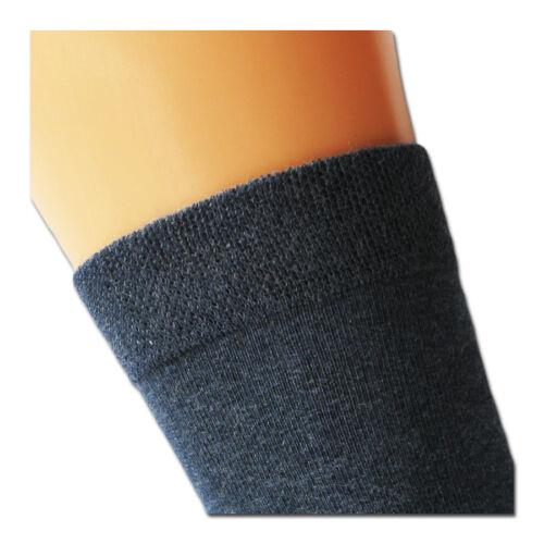 6 Pack Men´s Socks jeans blue Comfort Band without add Rubber /& Handlinked Toe
