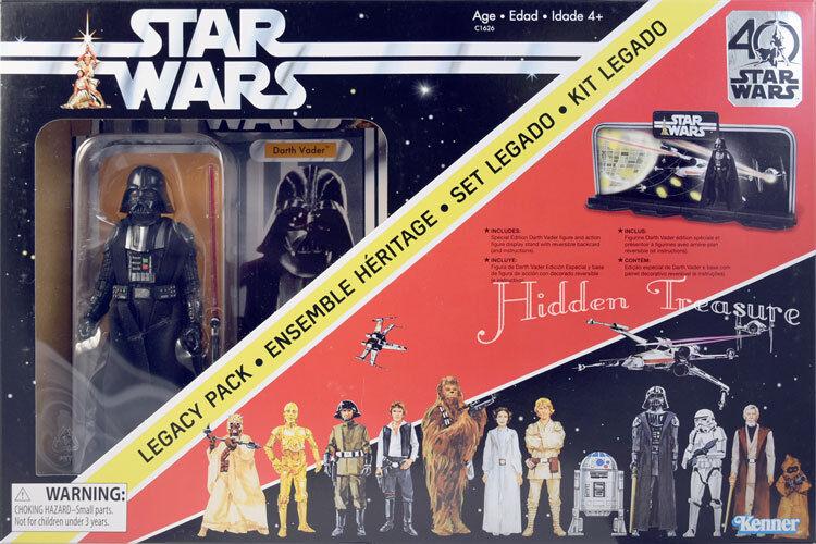 Stern WARS 40th Anniversary DARTH VADER LEGACY Verpackung w  zeigen Diorama