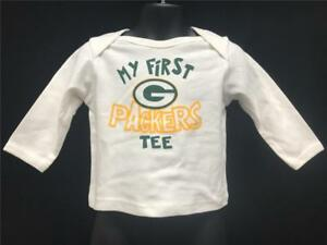 2350c5f6ad6d New-Minor Flaw Green Bay Packers Kids Size 12M White Reebok Shirt ...
