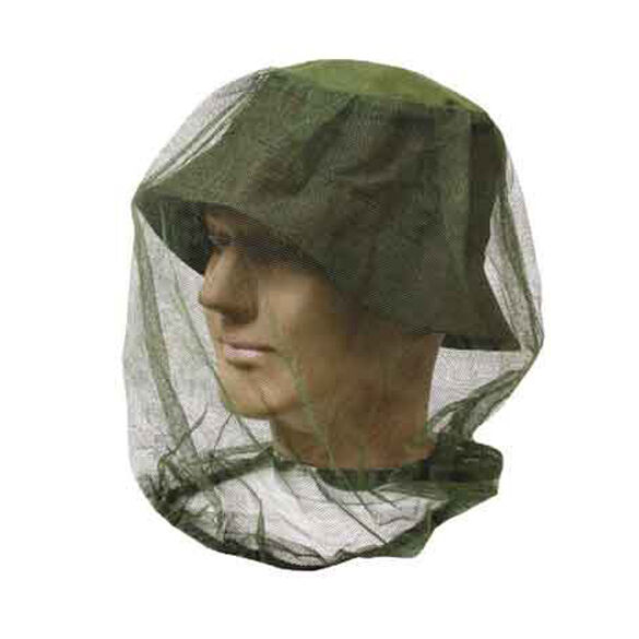 Mosquito Midge Micro Head Net Insect Bug Bee fly Hat Face Predection Mesh pest