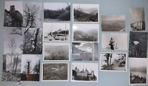 Lots 20 Photos Anciennes : Paysage