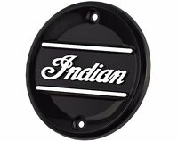 Indian Scout Black Indian Script Primary Engine Badge By Indian Motor