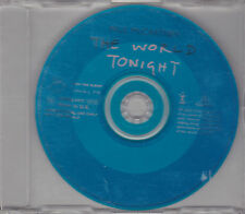 CD SINGLE COLLECTOR 1T PAUL McCARTNEY (BEATLES) THE WORLD TONIGHT 1997 UK