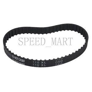 uxcell 110XL 110-XL Timing 55 Teeth Cogged PU Rubber Geared Belt 10.8