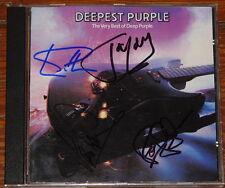 DEEP PURPLE MADE JAPAN SIGNED CD GILLAN LORD GLOVER PAICE UACC REGISTERED DEALER