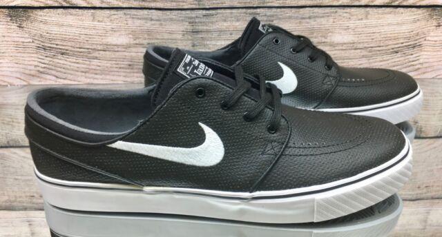3fd7c416f88a Nike Zoom Stefan Janoski L Black White 616490-013 Skate Shoes Men s Size  11.5