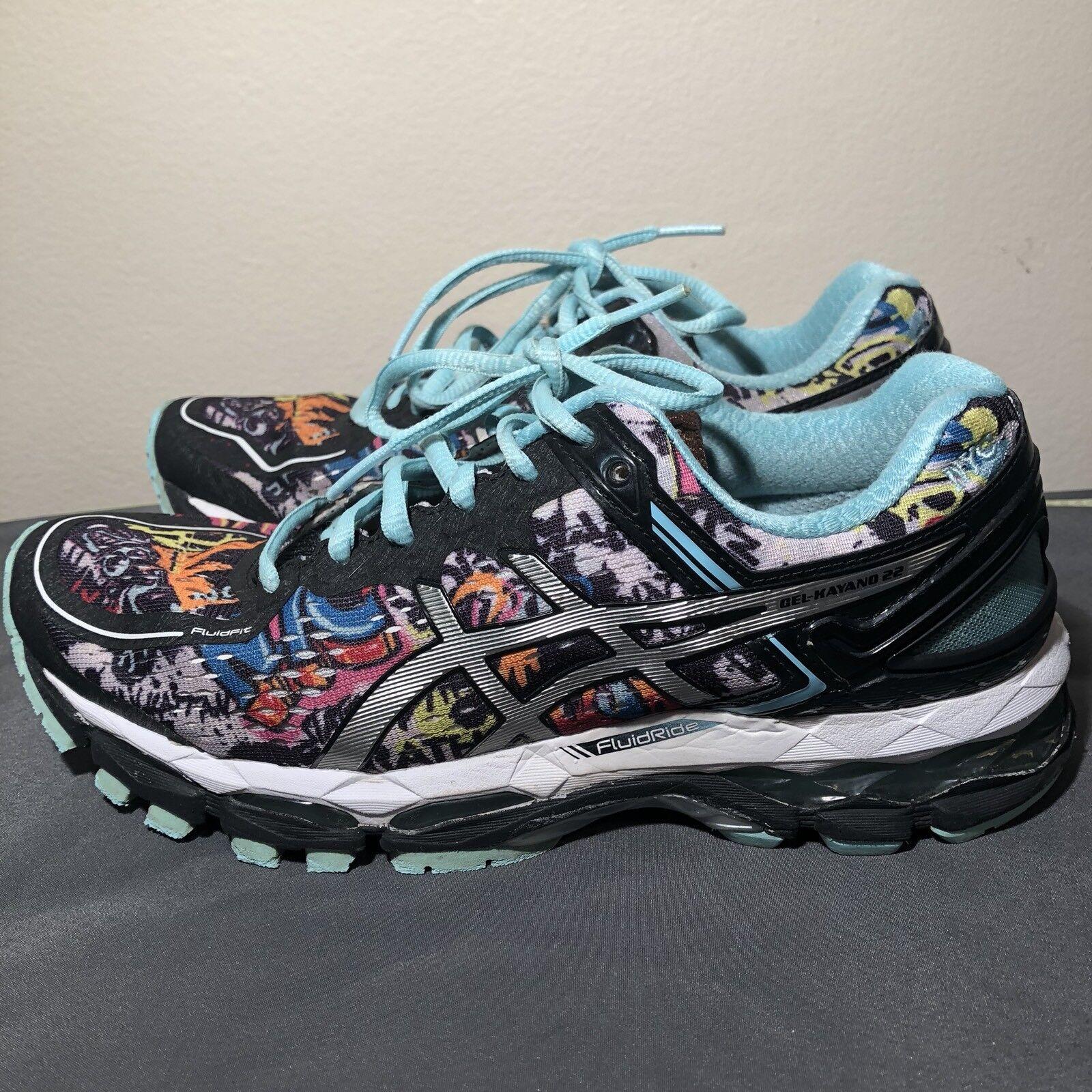 Asics Gel-Kayano 22 mujeres nos tamaño tamaño tamaño 7 NYC Marathon Ltd T5M7N Zapatos Para Correr Negro  la mejor selección de