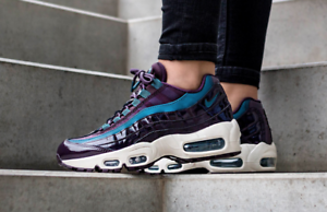 nike air max 95 trainers port wine white