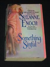 msm* SALE : SUZANNE ENOCH ~ SOMETHING SINFUL