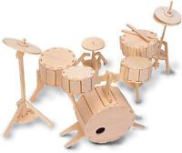 Drum Kit 3D Wooden Modelling Kit Model Jigsaw Puzzle
