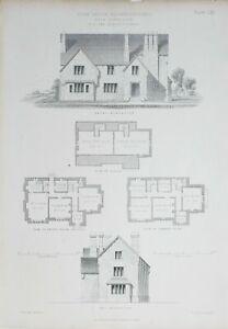 1868-Architektonisch-Aufdruck-Farm-House-Blubberhouses-E-Lamm-Architekt-Hoehe