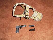 1/6 DAM x Blitzway Universal Soldier Luc Deveraux Harness Beretta Holster Set