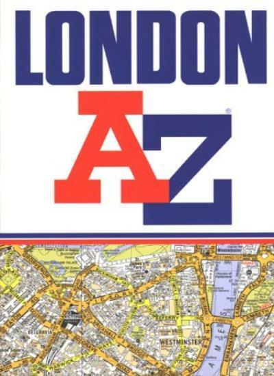 A to Z Street Atlas of London By Geographers' A-Z Map Company