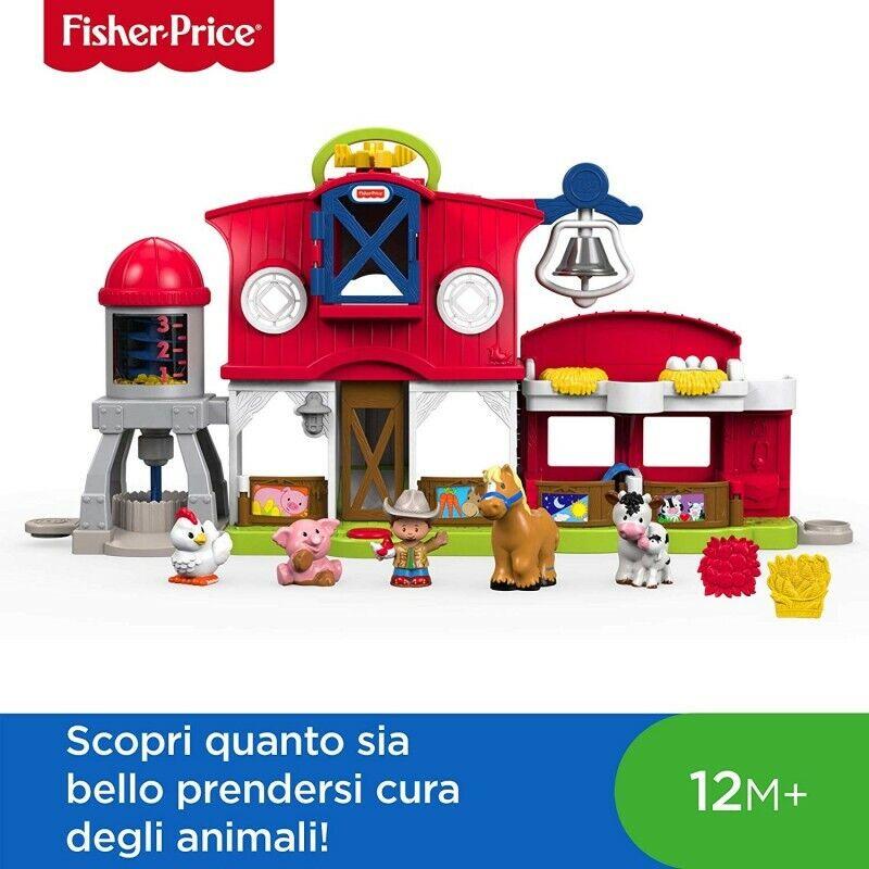 Fischer Price FKD15  Little persone Fattoria degli Animali Felici