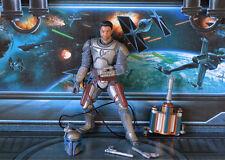 STAR WARS SAGA 2006 raccolta Figure Jango Fett Battaglia di Geonosis