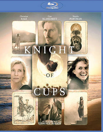 BLU-RAY Knight Of Cups Blu-Ray NEW Christian Bale - $16.99