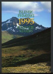 Island Jahresmappe 1995 postfrisch MNH (W687