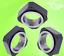 1pcs RN Precision ball screw holder square lock nut M6~M35 internal Copper pad