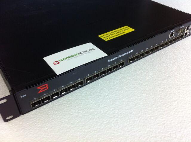 Brocade TI-24X-AC - TurboIron 24X - 1RU 10GbE * RPS11