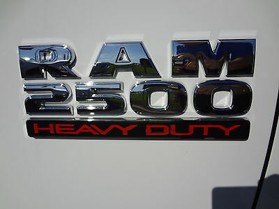 13-16 Dodge Ram 2500 Heavy Duty Emblem Badge Decal Nameplate Mopar Genuine Oem