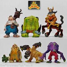 Monster In My Pocket - 2nd Gen 2006 - The Beasts - Complete set of 6 figures