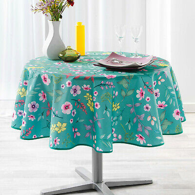 """ROUND SUNFLOWERS OLIVES WHEAT GREEN PROVENCE FRENCH TABLECLOTH 71/"""" NEW! 180cm"""