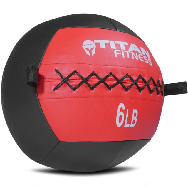 35498c003 Titan Soft Wall Ball Medicine 6-30 lb Core Workout Cardio Muscle Exercises