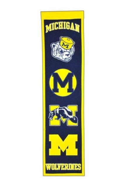 Winning Streak NCAA Wool Heritage Banner