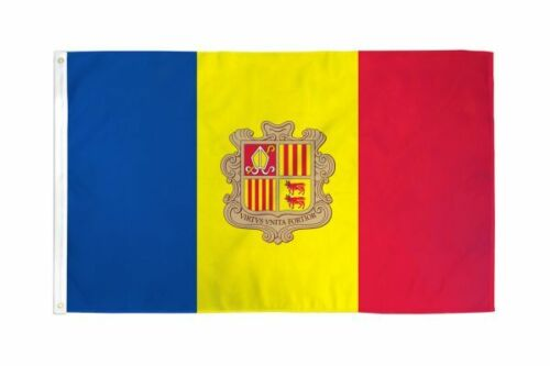 Andorra FLAG 2X3FT POLY