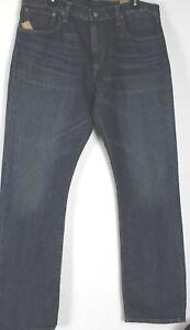 Polo-Ralph-Lauren-Slim-Straight-Jeans-Mens-38-32-Varick-Warwick-Wash