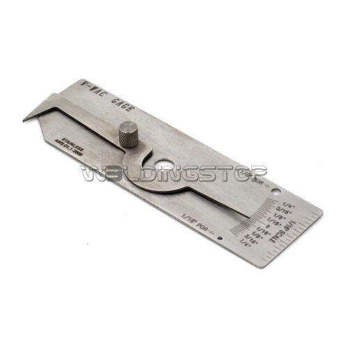 Standard V-Wac Gage weld Biting Edge Undercut inspection Gauge