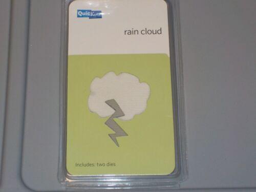 QUICKUTZ RAIN CLOUD 2X2 TWO CUTTING DIES KS-0927 NEW NIP A688