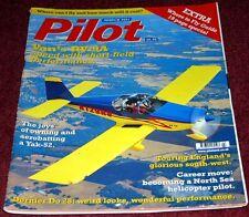 Pilot 2001 March Yak-52,RV-9,Dornier Do28,Aeroprakt A22,Bristow S-76