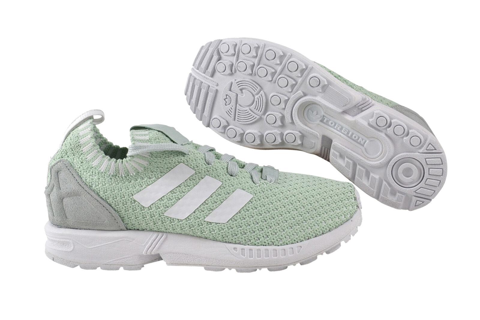 Adidas ZX Flux PK Damens vapor green WEISS Sneaker Schuhe grün weiß S81899