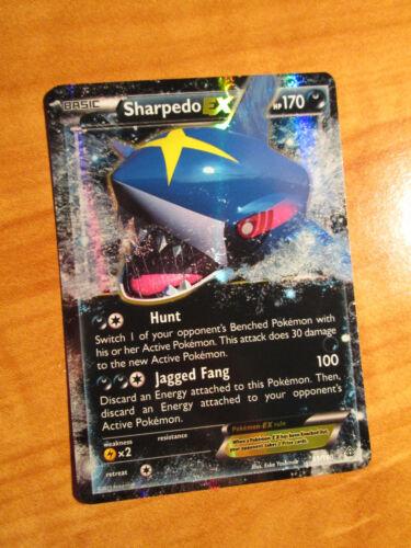 LP Pokemon SHARPEDO EX Card PRIMAL CLASH Set 91//160 XY X and Y Ultra Rare