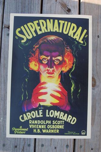 """Spanish movie Poster 4 film/""""Divine Creature/""""Italian art.DIVINA.Rosa enJaulada"""