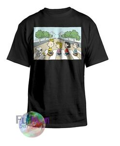 Image Is Loading New Peanuts Snoopy Charlie Brown Beatles Abbey Road
