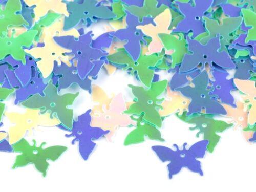 ca.14g Konfetti Herzen Schmetterlinge Ostern Hochzeit Scheiben Deko schmücken