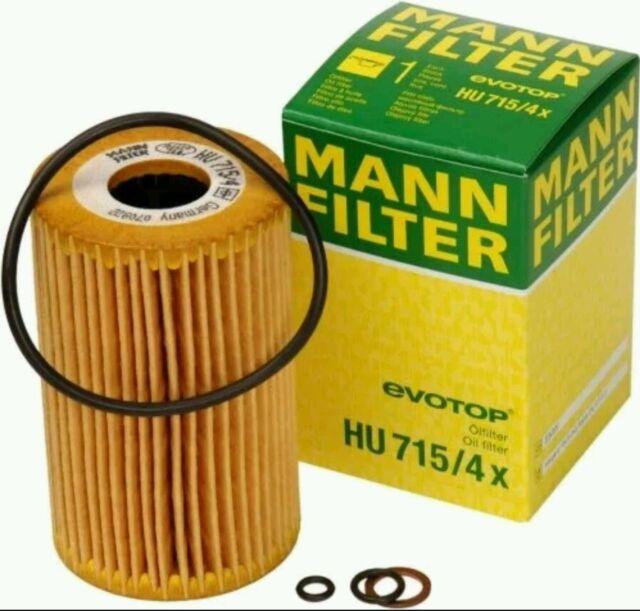 ÖLFILTER MANN-FILTER HU 715//5 X