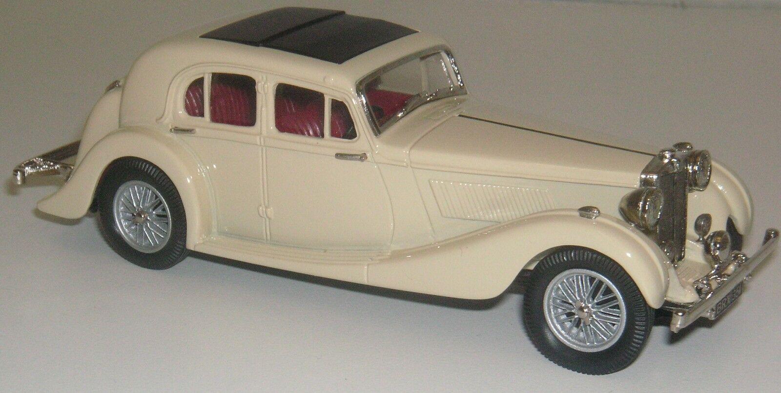 Lansdowne ldm53a 1936-1939 Mg Sa Saloon. 1 43 Metal blancoo