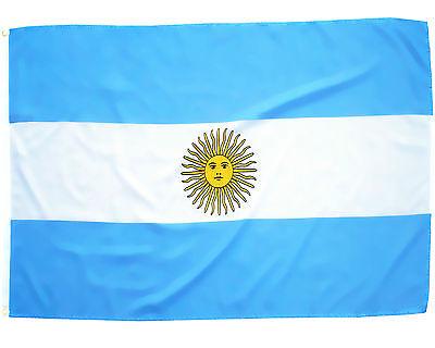 Fahne Argentinien 90 x 150 cm argentinische Hissflagge Nationalflagge