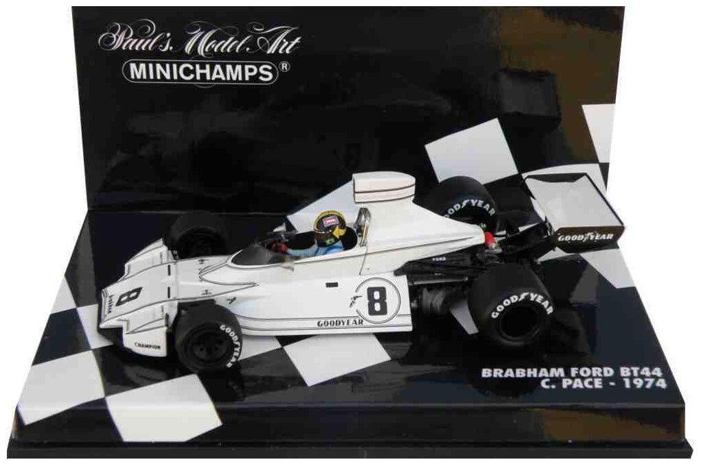 Minichamps Brabham Ford BT44 1974-Carlos Pace 1 43 Escala